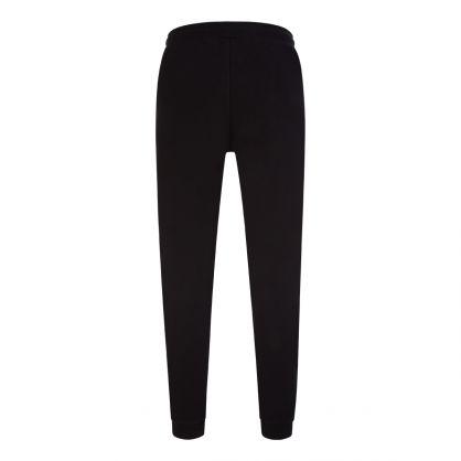 Black Hadiko Tonal Logo Sweatpants