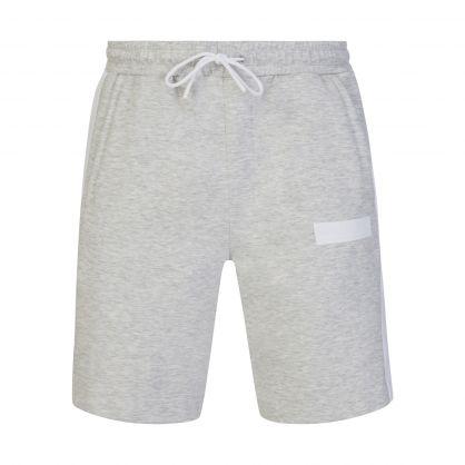 Grey Athleisure Headlo Batch Shorts
