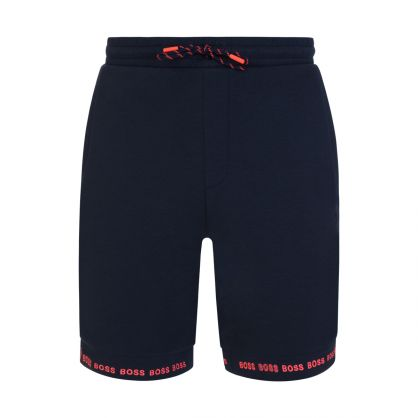 Navy Athleisure Headlo 1 Shorts
