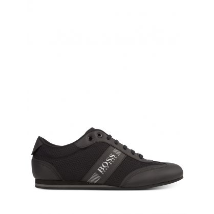 Black Lighter Low-Profile Trainers