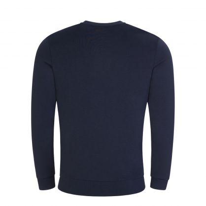 Dark Blue Salbo Iconic Sweatshirt