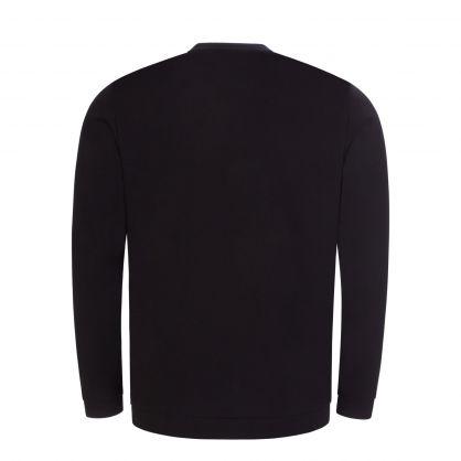 Black Athleisure Salbo Sweatshirt