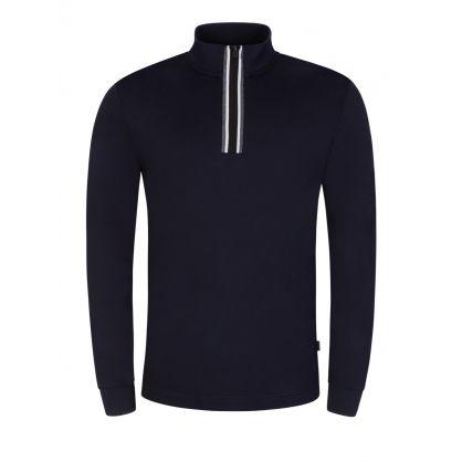 Navy Tenore 11 1/4-Zip Sweatshirt
