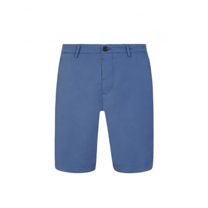 Blue Casualwear Slice-Shorts