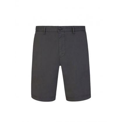 Grey Slice Shorts