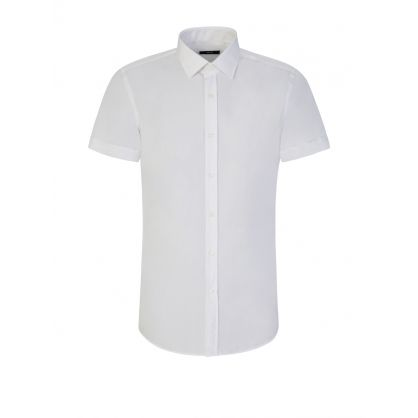 White Jats Slim Fit Shirt
