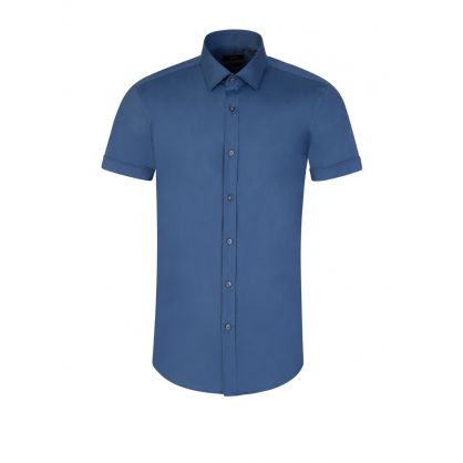 Blue Jats Short Sleeve Shirt