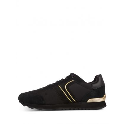 Black Parkour Runners Trainers