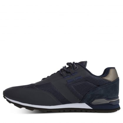 Navy Casual Parkour Runners Trainers