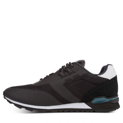 Black Parkour Runners Hybrid Trainers