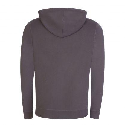 Dark Grey Casual Zetalk 1 Zip-Through Hoodie