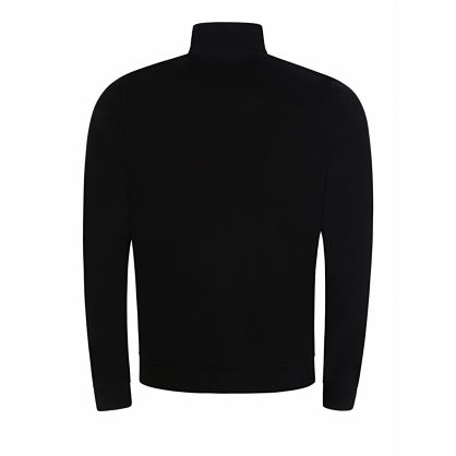 Black Zip-Through Sweatshirt