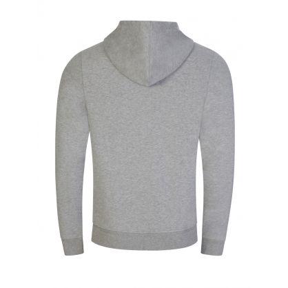 Grey Phoenix Logo Hooded Zip-Through