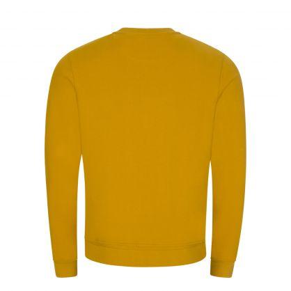 Gold Slim-Fit Classic Sweatshirt
