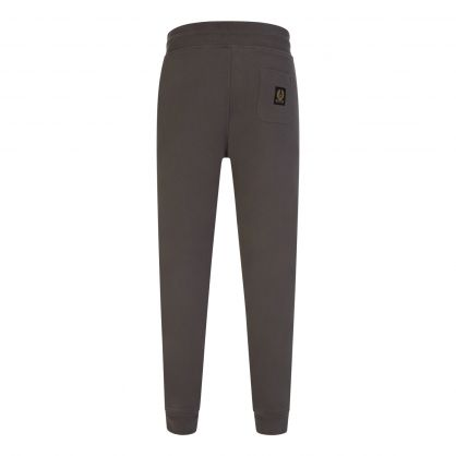 Grey Slim-Fit Sweatpants