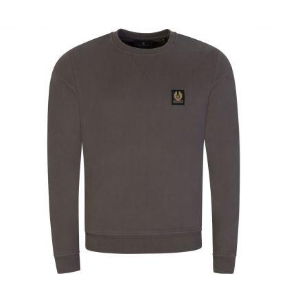 Grey Loopback Jersey Sweatshirt