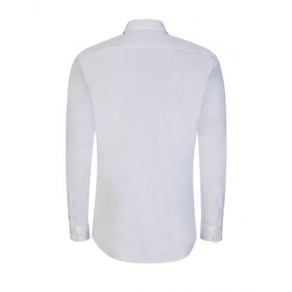 White Slim-Fit Isko Shirt