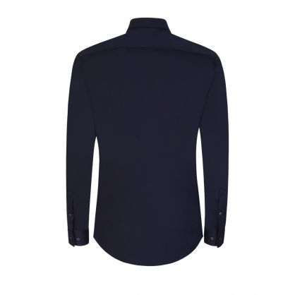 Navy Slim-Fit Isko Shirt
