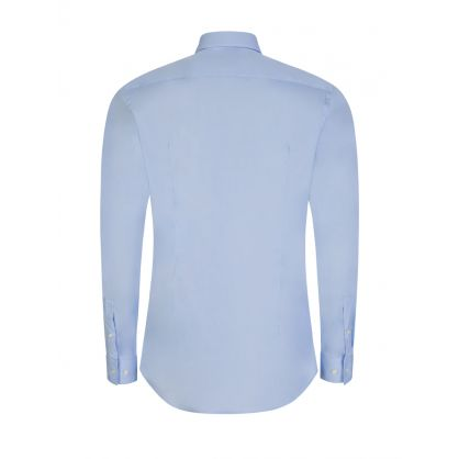 Blue Slim-Fit Isko Shirt