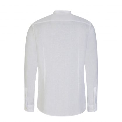 White Formal Slim-Fit Jordi Shirt