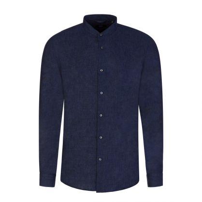 Navy Jordi Linen Shirt