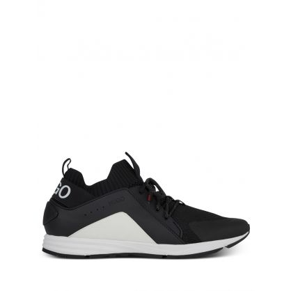 Black Hybrid Runner Trainers