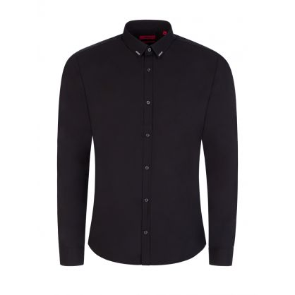 Black Extra-Slim-Fit Ero3 Shirt