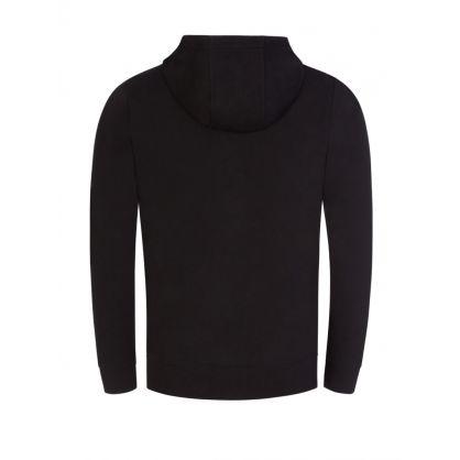 Black Daple212 Hooded Zip-Through