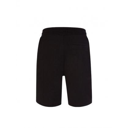 Black Diz212 Tracksuit Shorts