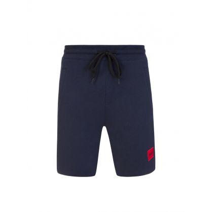 Dark Blue Diz212 Shorts