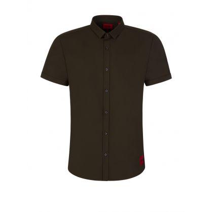 Dark Green Empson-W Extra Slim Fit Shirt