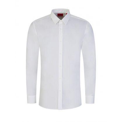 White Elisha02 Extra Slim Fit Shirt