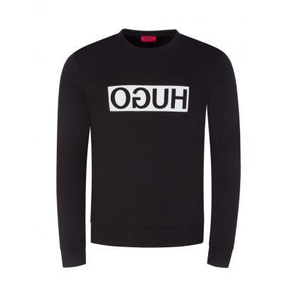 Black Reversed Logo Dicago Sweatshirt