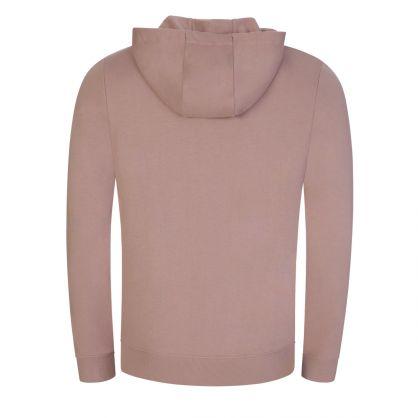 Pink Daple212 Zip-Through Logo Hoodie