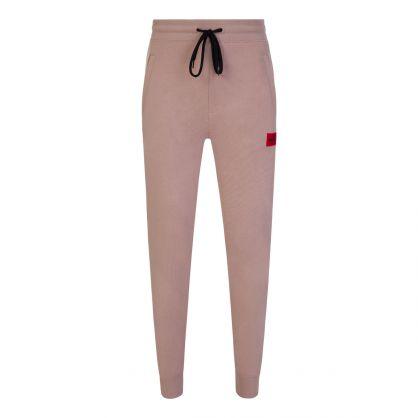 Pink Doak212 Red Logo Patch Tracksuit Sweatpants