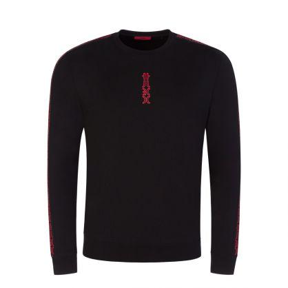 Black Doby213 Logo Sweatshirt