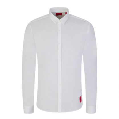 White Ero3 Extra Slim Fit Shirt