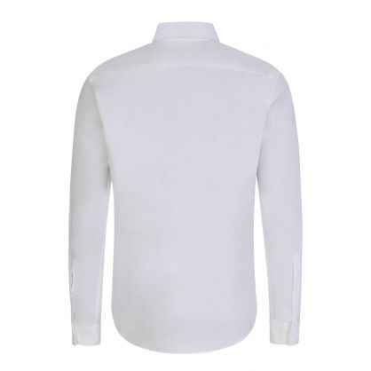 White Slim-Fit Red Label Evito Shirt