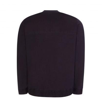 Dark Blue Double Pocket Donkey Sweatshirt