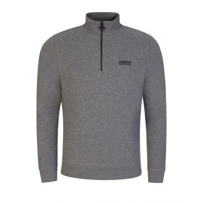 Grey Essential 1/2-Zip Sweatshirt