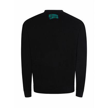 Black Astro Embroidered Sweatshirt