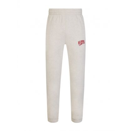 Beige Small Arch Logo Sweatpants