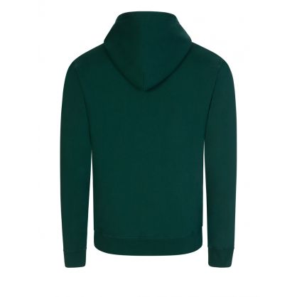 Green Small Arch Logo Popover Hoodie