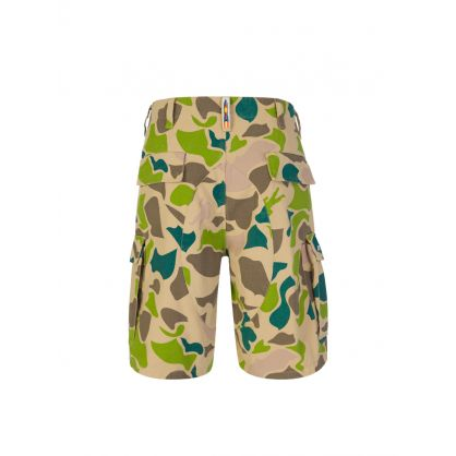 Camo All-Over Print Field Shorts