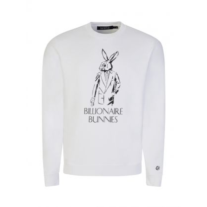 White Bunnies Sweatshirt