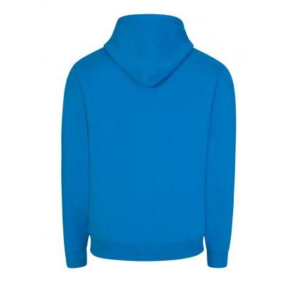 Blue Arch Logo Hoodie