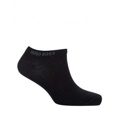 Black Ankle Socks 2-Pack