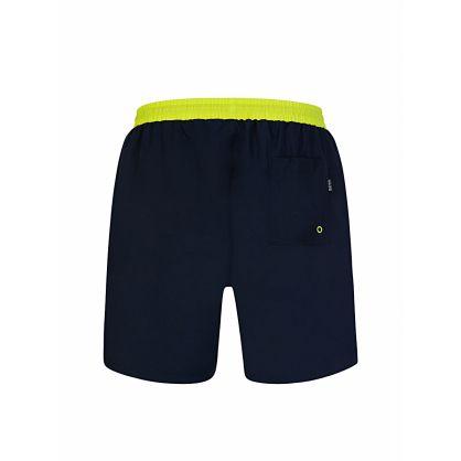 Navy Starfish Swim Short