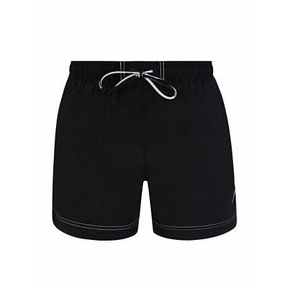 Black Quick-Drying Tuna Swim Shorts