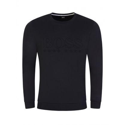 Menswear Black Heritage Sweatshirt
